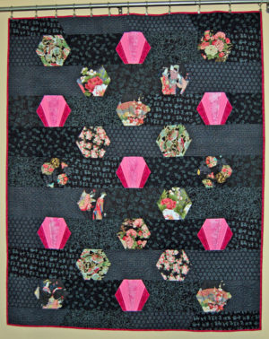 Fan Hexagon Quilt by Cindy Thury Smith