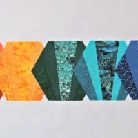 Fan Hexagon Quilt Blocks