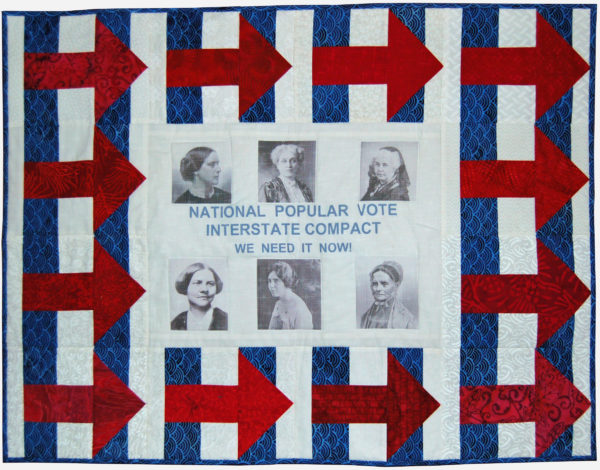 Hillary Clinton Block by Cindy Thury Smith